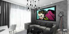 Projektowanie wnętrza apartamentu ArtCore Design. Więcej obrazów wnętrza na stronie: http://www.artcoredesign.pl/