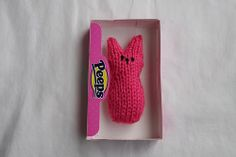 Who needs candy! #Knitting Peeps!