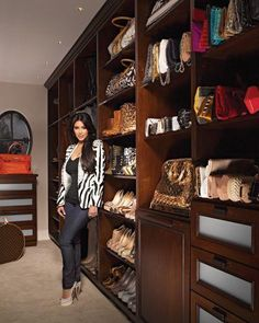 Kim's K upgraded closet | The House of Beccaria#
