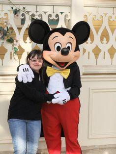 Sonia a pu passer une journée magique à Disneyland Paris ! (Pour en savoir plus : https://www.facebook.com/makeawishfrance )