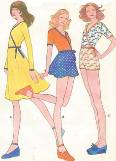 1970s McCalls Sewing Pattern 3157 Easy Knits Womens by CloesCloset