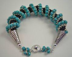Cellini Spiral Bracelet  www.theshinybead.shophandmade.com