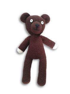 Mr. Beans Teddy - gehäkelt von Kreativ Wolle