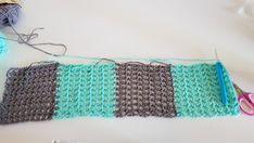 plaid summer sweater row 1 Manado, Crochet Poncho, Crochet Top, Summer Sweaters, Free Pattern, Crochet Patterns, Plaid, Stuff To Buy, Women