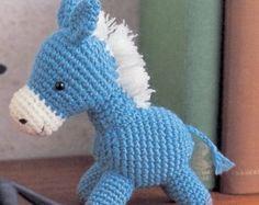 Amigurumi Pony Horse Plush Crochet Pattern  PDF