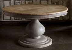 Vintage Foyer Table, 60 inches in diameter. $2189.