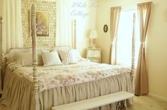Transforming A Master Bedroom - White Lace Cottage