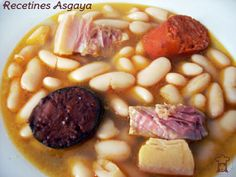 "RECETINES ASGAYA: Fabada Asturiana o......""Hay que tener valor..."""