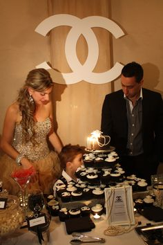 We loved styling the venue in Chanel theme for Joanne's 30th birthday party