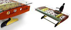 Stearman Shorty Desk | MotoArt