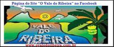 Página do Facebook do Site O Vale do Ribeira