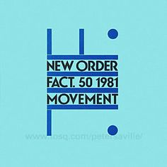New Order by Peter Saville