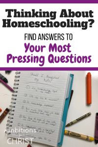 Thinking About Homeschooling? Answers To Your Most Pressing Questions #homeschoolingquestions #frequentlyaskedhomeschoolquestions #newhomeschoolmom #homeschoolanswers #Christianhomeschool #homeschoolmom Christian Parenting, Christian Homeschool, Facebook Support, School Sets, Homeschool Curriculum, Homeschooling Resources, Home Schooling, Uplifting Quotes, Finding Peace
