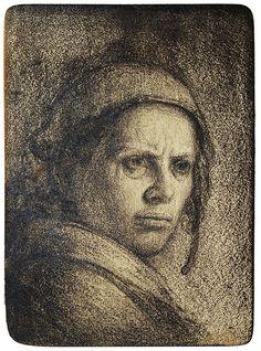 Odd Nerdrum - Islandsk kvinne | kr 16 000,-