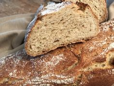 Classic Sourdough Bread from King Arthur Flour. Includes recipe for making sourdough without adding any yeast to the starter. Sourdough Recipes, Sourdough Bread, Bread Recipes, Buttermilk Bread, Starter Recipes, Night Snacks, Easy Snacks, Baking Flour, Bread Baking
