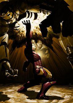 Iron Man by Frazer Irving