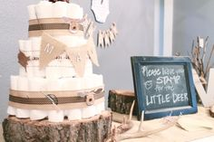 Little Moments: Woodsy Baby Shower
