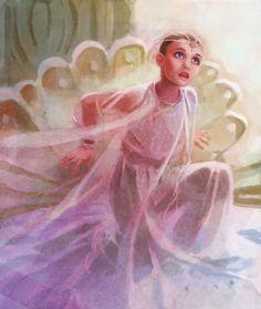 Die unendliche Geschichte by ~joel27 on deviantART  (The child-like empress from The Neverending Story)
