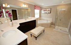 Bainebridge Estates New Home Community - Jacksonville - Jacksonville / St. Jacuzzi Tub, New Home Communities, New Home Builders, New House Plans, New Homes For Sale, Bath Design, Shower Doors, Model Homes, Home Staging