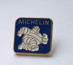 MICHELIN ENAMEL LAPEL PIN BADGE