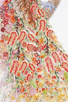 Louise SAXTON \ Ellis' Paradise 2011 – after Ellis Rowan, 1917 (detail)