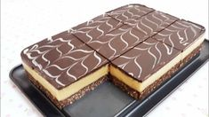 Vynikajúci nepečený dezert na víkendové maškrtenie. Biscotti Cookies, Cake Cookies, Cupcake Cakes, Ice Cream Candy, No Bake Cake, Tiramisu, Mousse, Recipies, Cheesecake