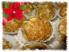 Guľky Marlenka Christmas Cookies, Cake Recipes, Muffin, Baking, Breakfast, Food, Cakes, Xmas Cookies, Morning Coffee