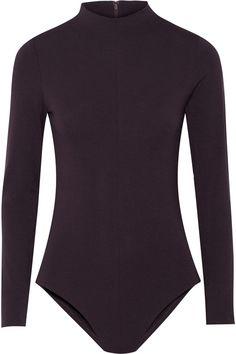 Tibi Stretch-Jersey Turtleneck Bodysuit