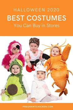 These are the best Halloween costumes for babies and newborns you can buy in a store. Including family costumes, stroller and wagon ideas for both boys and girls. Some are easy, some are funny, but all of them are scary good!