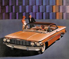 Retrophile — vintagegaze:   1960 Oldsmobile Ninety Eight.