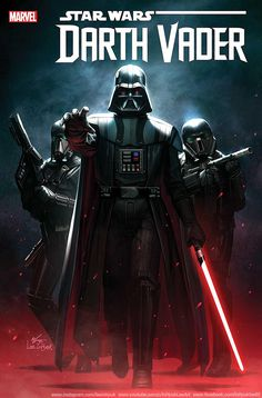 Ahead of its release, Marvel releases cover and panels for their upcoming new Star Wars series The Sith Lord faces ghosts from his past in Marvel's Darth Vader The new ongoing series from writer and artist (with covers by kicks off on February Darth Vader Star Wars, Darth Vader Comic, Anakin Vader, Star Wars Jedi, Star Trek, Darth Maul, Star Wars Fan Art, Star Wars Pictures, Star Wars Images