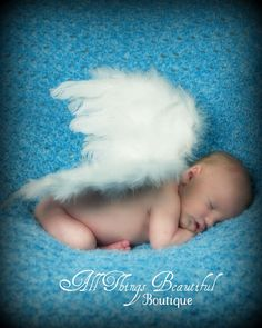 Feather Angel Wings Photo Prop by AllThingsGrand on Etsy, $12.99