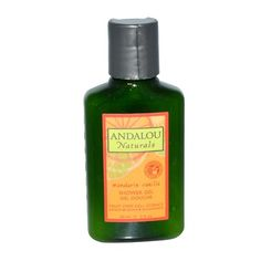 Andalou Naturals Vitalizing Shower Gel Travel Size Mandarin Vanilla 2 Fluid Ounce * More info could be found at the image url.