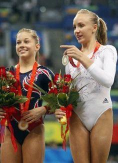 Shawn and Nastia; Beam Finals, 2008 Olympics