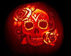From distie: http://www.distie.com/blog/misc-fun/dia-de-los-muertos-pumpkin-carving/