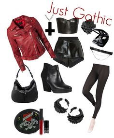"""Just Gothic"" by crazedflyer on Polyvore"