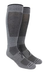 $19.99 These hiking socks have the best thermal transfer. The hollow core of the alpaca fiber allows excellent breathability, creating the perfect microclimate for your feet while you hike from cool to colder weather in the Fall.