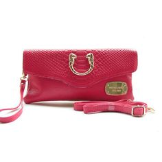 Michael Kors Outlet Snake-Embossed Small Pink Crossbody Bags| Michael Kors Outlet Online