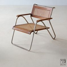 Extremely rare tubular steel chair by Erich Dieckmann - Image 3