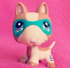 Littlet pet shop superhero dog