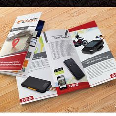 "GPS Tracker consumer product brochure needed by Your Designer ""PIX"""