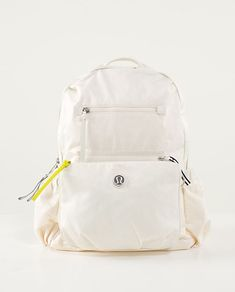 Back To Class Backpack in big paisley emboss angel wing from Lululemon.