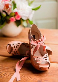 eyelet coral heels.....I bought similar ones recently! And I love them!