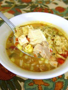 Chicken Tortilla Soup | Plain Chicken