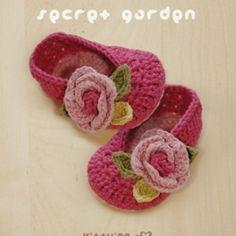 Secret Garden Ballerina Crochet Pattern