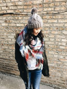 Blanket scarf | Just Becky