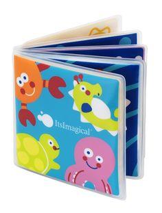 Livre de bain Glu-glu Ocean Book BLEU - vertbaudet enfant