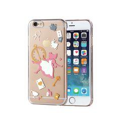 "Alice IN Wonderland Disney Iphone 6s 4 7"" Clear Hard Case Cover Rabbit Japan F S   eBay"