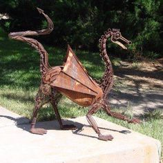 """Figure out additional info on """"metal tree art projects"""". Check out our web site. Metal Yard Art, Metal Tree Wall Art, Scrap Metal Art, Welding Art Projects, Metal Art Projects, Blacksmith Projects, Welding Design, Sculpture Metal, Art Sculptures"""