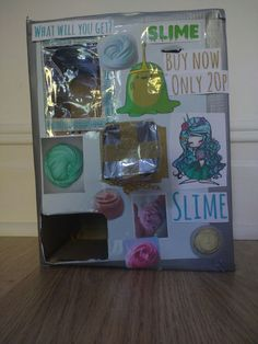 Homemade slime vending machinerequires youtube nail ideas this is my homemade slime vending machine ccuart Choice Image